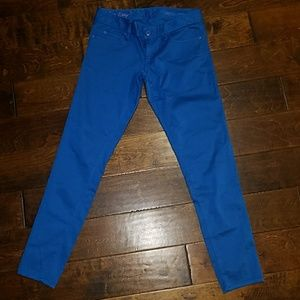 Lilly Pulitzer Brewster blue 4 worth skinny pants